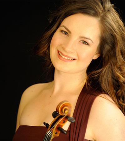 Violinist Amalia Hall Wins Young Artists Comp