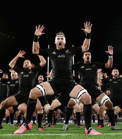 World Champion All Blacks Beat Wales