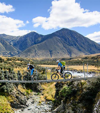 NZ's New South Island Mountain Bike Tour