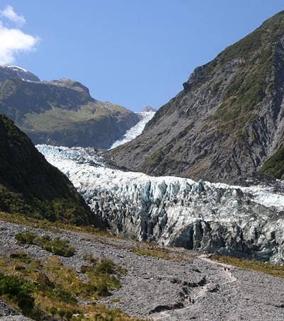Hiking on Ice at Fox Glacier