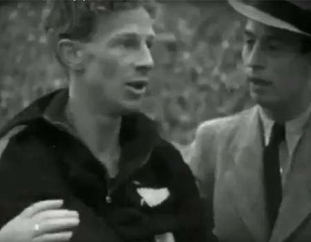 Jack Lovelock, 1500 Metres Final, Berlin Olympics 1936