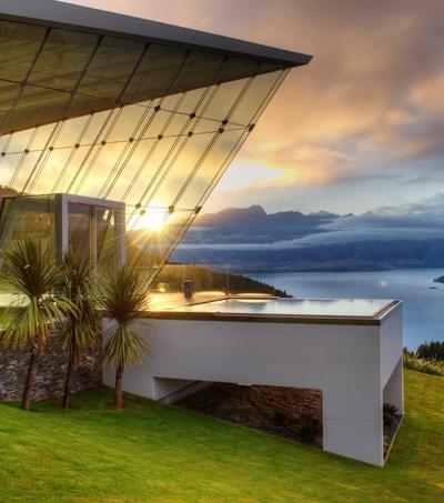 Architectural Wonder on NZ Cliff