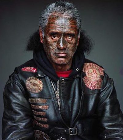 Jono Rotman's Mongrel Mob Portraits