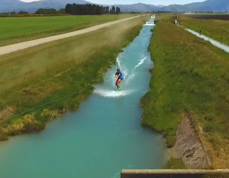 Wakeboard Winching in New Zealand