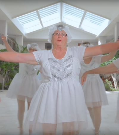 NZ Retirement Home Residents Shake It Off