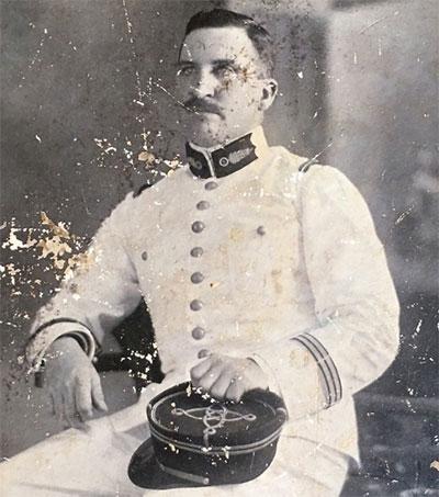 Celebrating French Legion Hero James Waddell