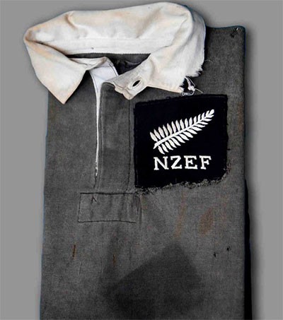NZ WWII Rugby Jersey Helps Cash-Strapped Welsh Club