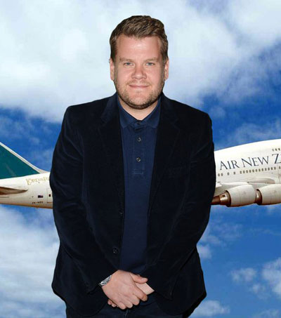 Air NZ Invites James Corden to Host Cockpit Karaoke