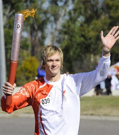 Triathlete Aaron Fleming Defies the Odds