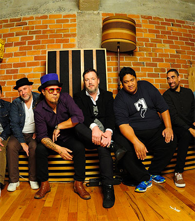 Fat Freddy's Drop Chat Ahead of BoomTown