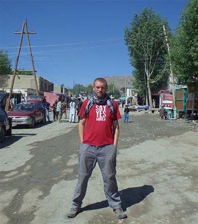Jon Beardmore Documents Odyssey Across Central Asia