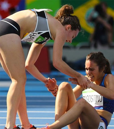 Astounding Act of Sportsmanship in Rio