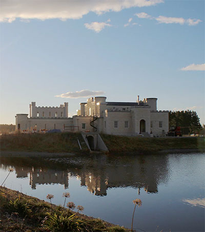 This Is the Castle That Dot Smith Built