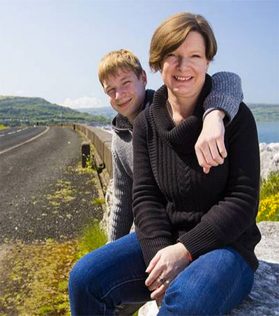 This is the Antrim Coast Road that Andrea Drove