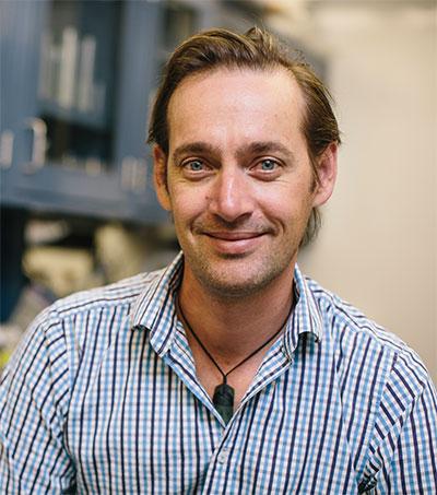 Fulbright Scholar Matthew Stott in Yellowstone