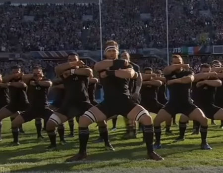 All Blacks Vs. Ireland – Haka