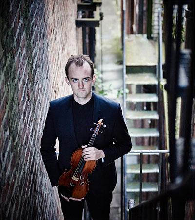 Violinist Benjamin Baker Wins NY Music Prize
