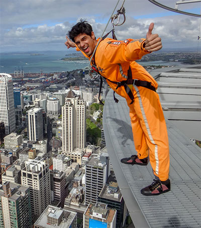 Bollywood Star on Power-Packed NZ Adventure Trail