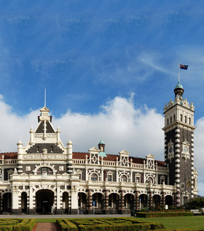 Dunedin Railway Station One of the Most Beautiful