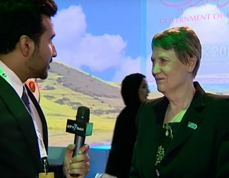 Helen Clark Interview