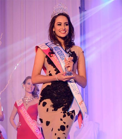 Ariel Pearse Crowned Miss Tourism International