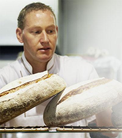 Baker Dean Brettschneider's Hands-On Approach