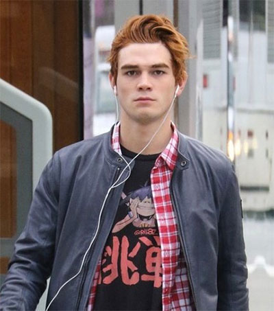 KJ Apa's Dark Take on Comic Book Archie