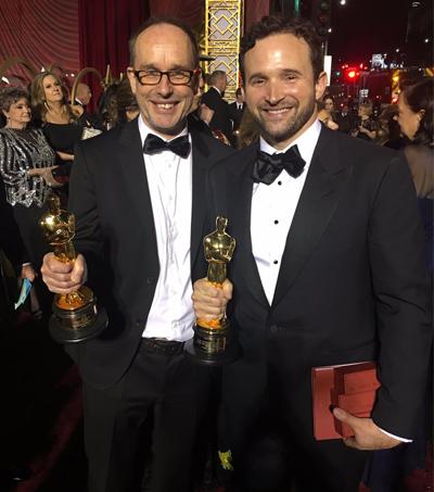 John Gilbert and Dan Lemmon Win at Oscars