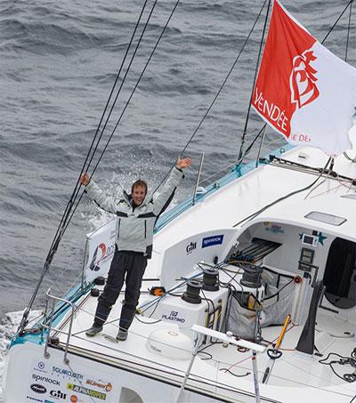 Conrad Colman Completes Vendée Globe