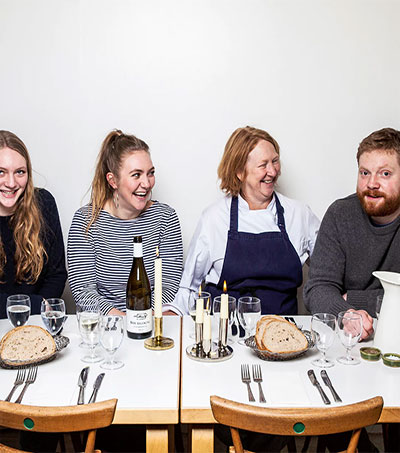 How Chef Margot Henderson Cooked and Parented