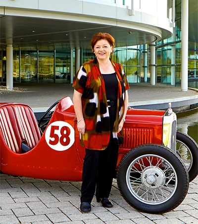 Bruce McLaren's Daughter Maintaining the Vision