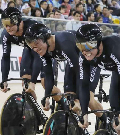 Sprint Cyclists Dominate at World Championships