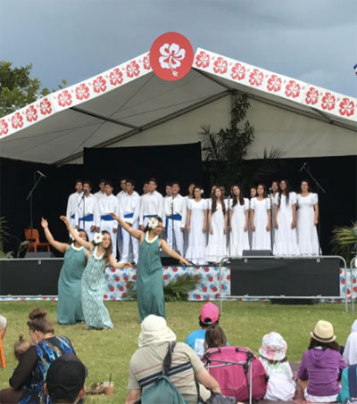 Pasifika Festival Enlightens US Student
