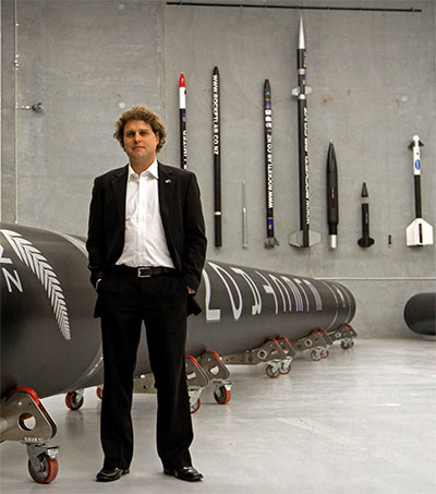 New Zealand's Rocket Man Peter Beck Taking Off