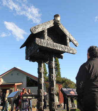 New Zealand's Bronze Māori Storehouse Destined For UN