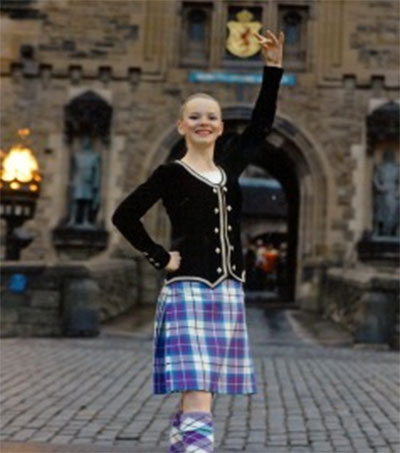 Whangarei Highland Dancer off to Tattoo