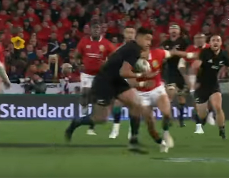 All Blacks v British & Irish Lions 1st Test Highlights
