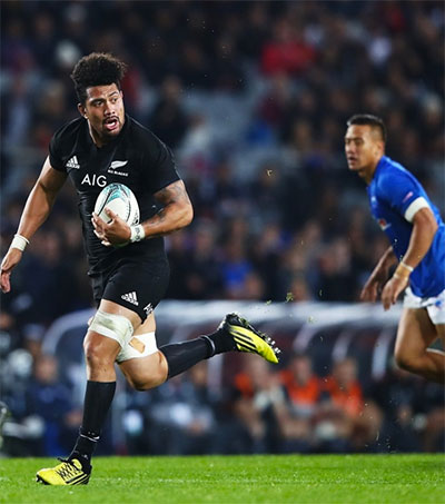 All Blacks Thrash Samoa 78-0