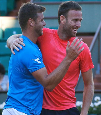 Michael Venus Wins in Doubles at French Open