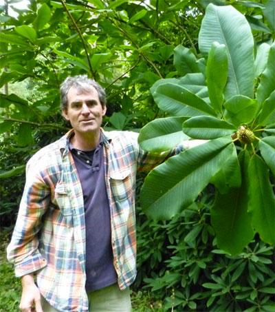 Tom Hudson Showcases Rare Plants in Cornwall
