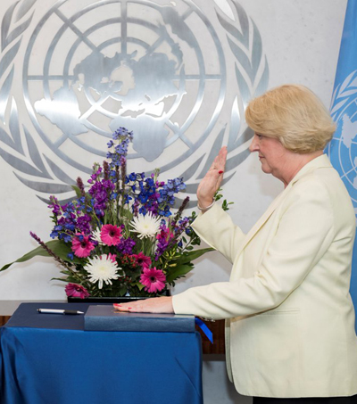 UN Chief Appoints Jan Beagle Of New Zealand As Under-Secretary-General For Management