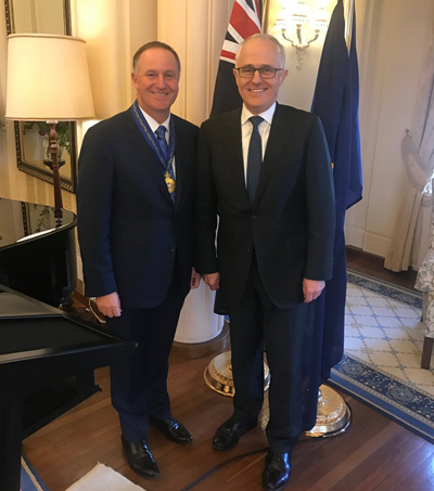 John Key Awarded Order of Australia