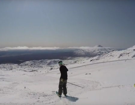 Mount Ruapehu – NZ's Winter Playground