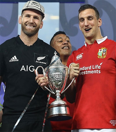 Fans From Both Sides Celebrate All Blacks Lions Draw