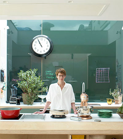 Chef Anna Hansen at Home in Her Own Kitchen