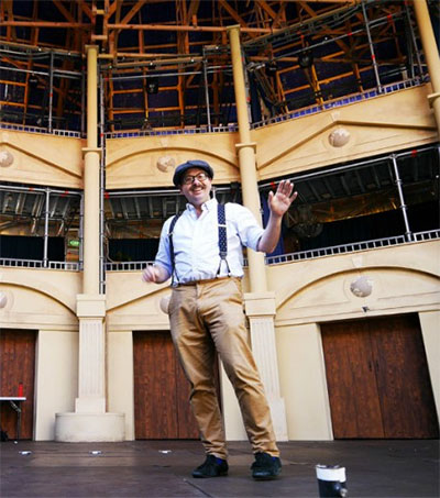 Miles Gregory's Globe to Pop up in Melbourne