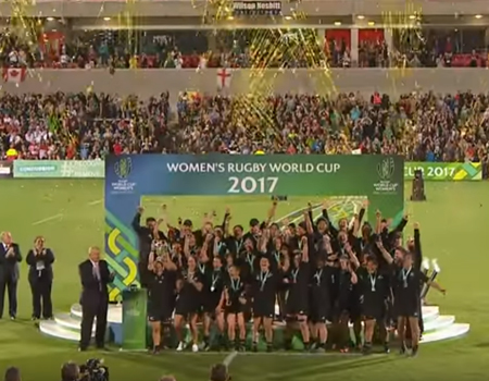 Black Ferns Win World Cup