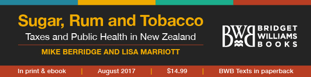 \'Sugar, Rum and Tobacco\' - a new BWB Text by Mike Berridge and Lisa Marriott