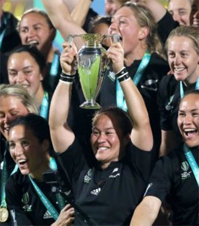 Black Ferns Blitz Red Roses to Take World Cup Crown