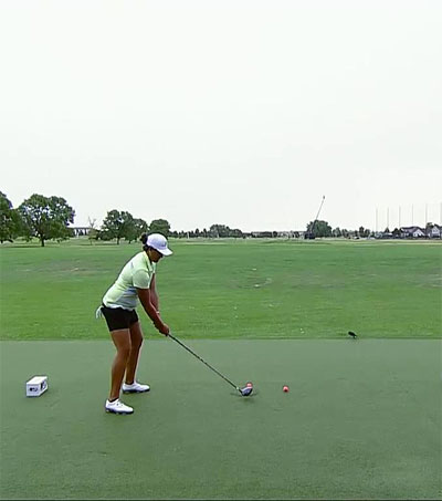 Phillis Meti Sets World Record for Longest Drive